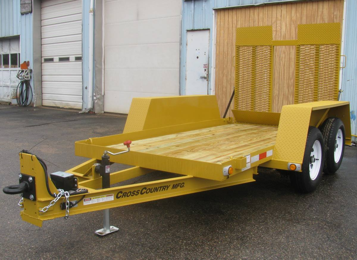CROSS COUNTRY 510TSL 5' x 10' Tandem Axle