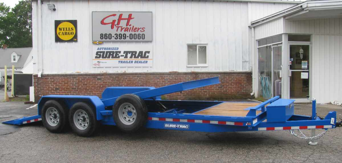 SURE-TRAC ST82184WTE-B-140 4' Fixed + 18' Tilt